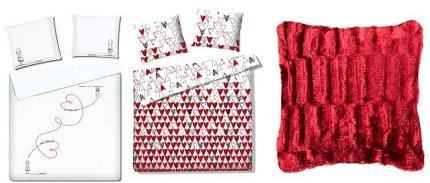 Tkaniny i pościel na Walentynki od Home&you