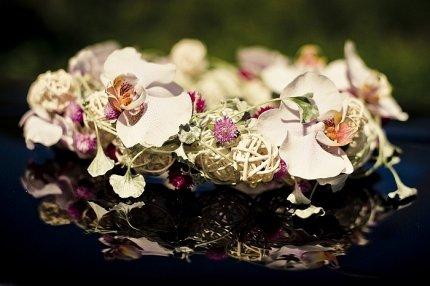 Wieniec ślubny, moda ślubna