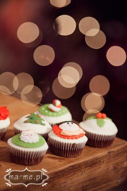 Muffinki świąteczne, Boże Narodzenie
