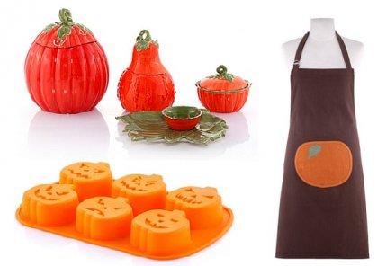 Akcesoria kuchenne i dekoracje na Halloween